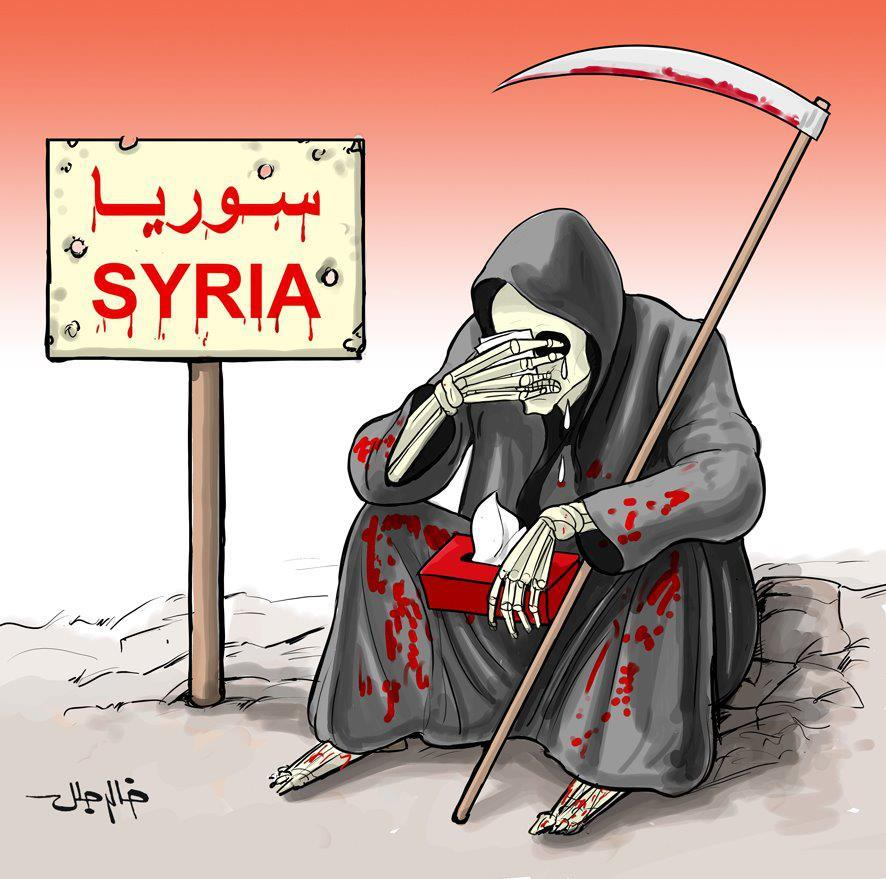 Image result for Zionist 'Prolong Bloodshed' in Syria CARTOON