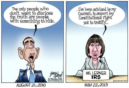 Cartoon - Constitutional Rights